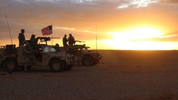 Militaires US près d'Al-Tanf en Syrie - Sputnik France
