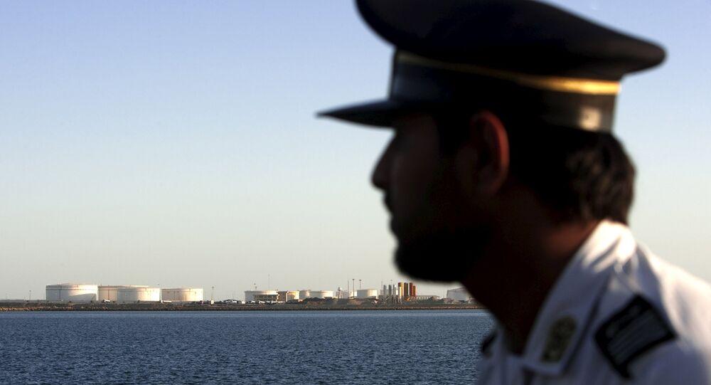 Port de Kalantari à Chabahar en Iran