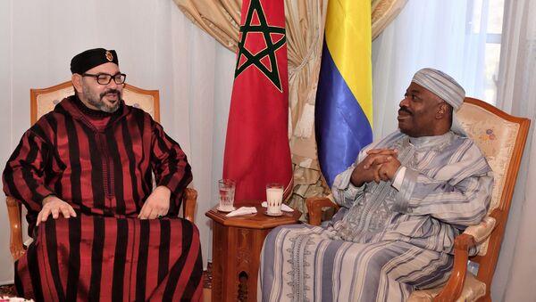 Ali Bongo Ondimba et Mohamed VI - Sputnik France