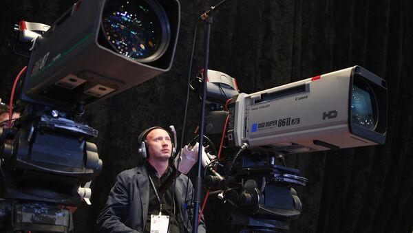 Caméras de télévision - Sputnik France