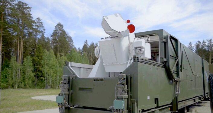 Le nouveau laser de combat Peresvet