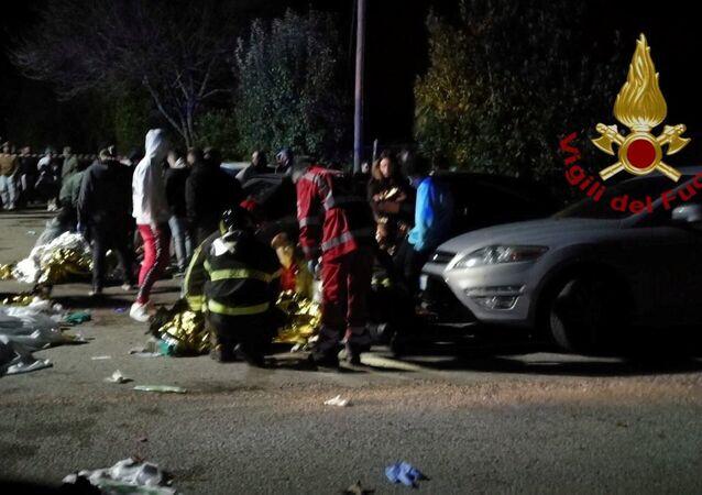 Italie: 6 morts dont 5 mineurs dans une bousculade dans une discothèque