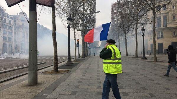 Sondage: s'ils se présentaient, quels partis les Gilets jaunes battraient-ils aux élections européennes? (image d'illustration) - Sputnik France