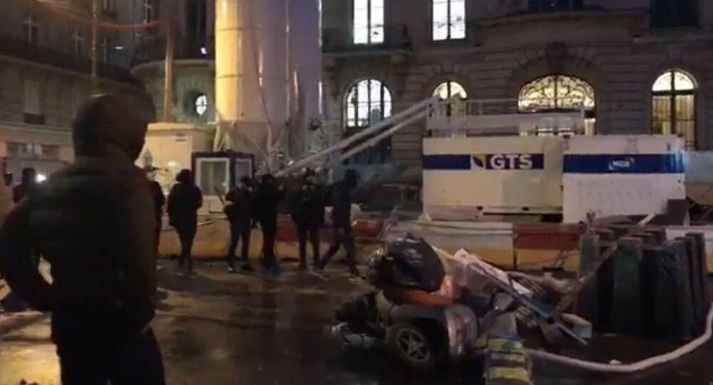 Manifestations des Gilets jaunes à Paris, le 8 décembre 2018
