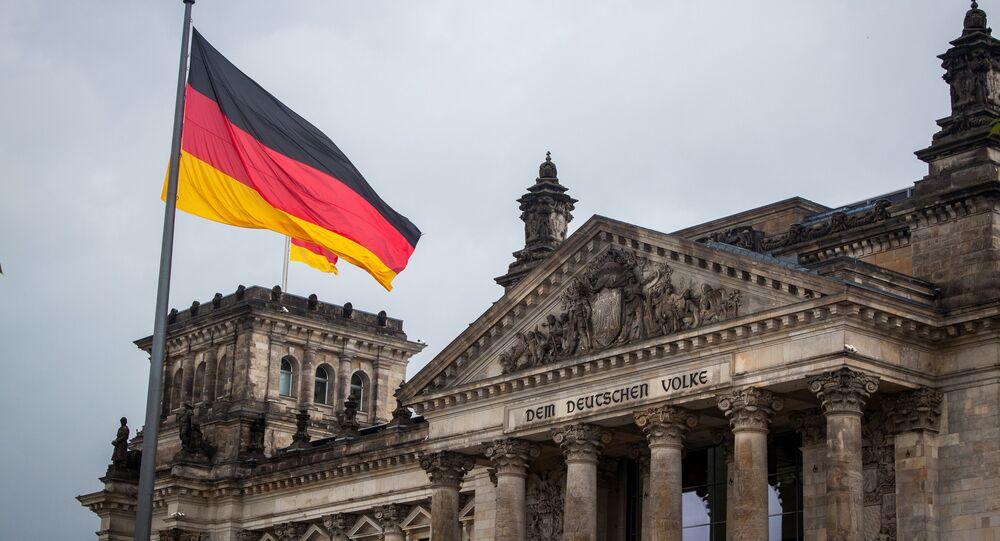 Le Bundestag (photo d'archie)