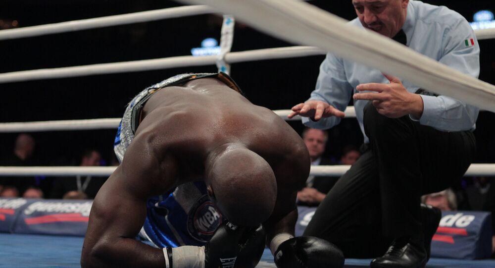 Un knock-out, image d'illustration