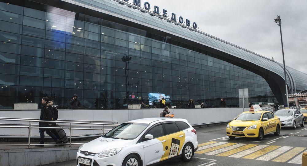 L'aéroport Domodedovo de Moscou