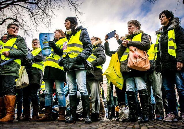 Gilets jaunes aux Pays-Bas