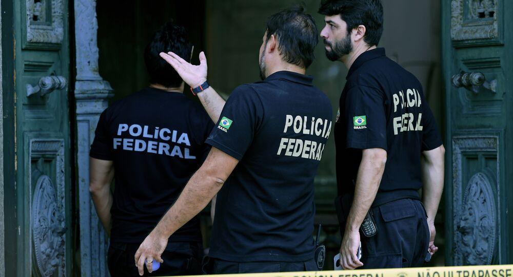 Police brésilienne, image d'illustration