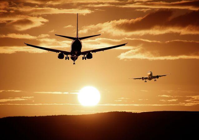 Avions en atterrissage