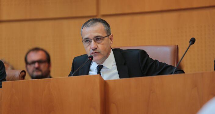 Jean-Guy Talamoni, Président de l'Assemblée de Corse