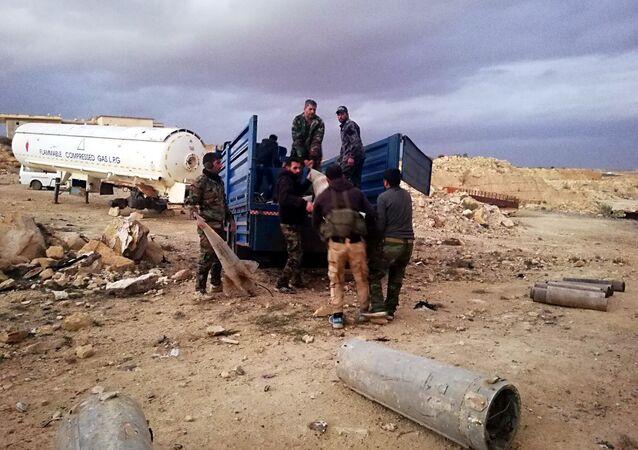 Missiles découverts dans la région de Deraa