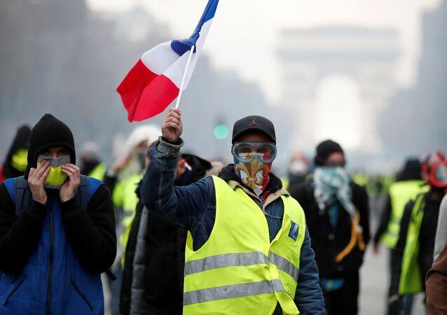 Mobilisation des Gilets jaunes en France