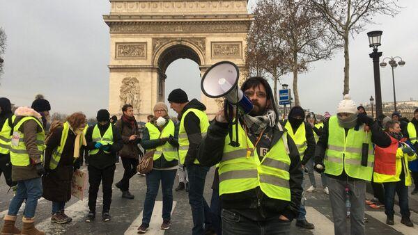 Acte 5 des Gilets jaunes à Paris, le 15 décembre 2018 - Sputnik France