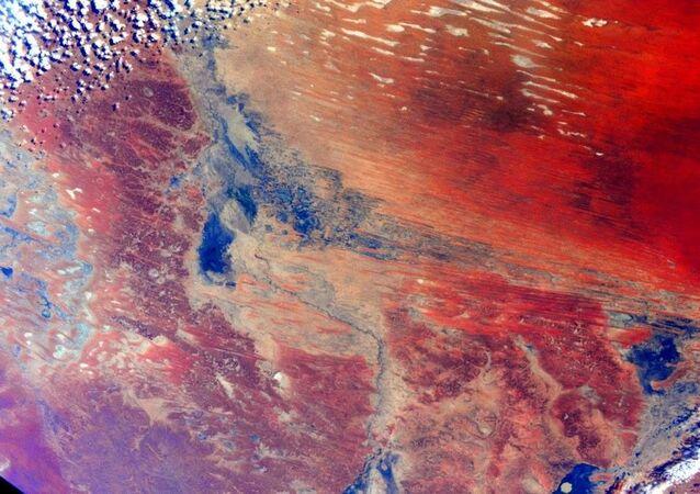 L'Australie depuis le bord de l'ISS