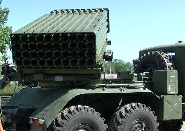 Lance-roquettes multiples Tornado-G