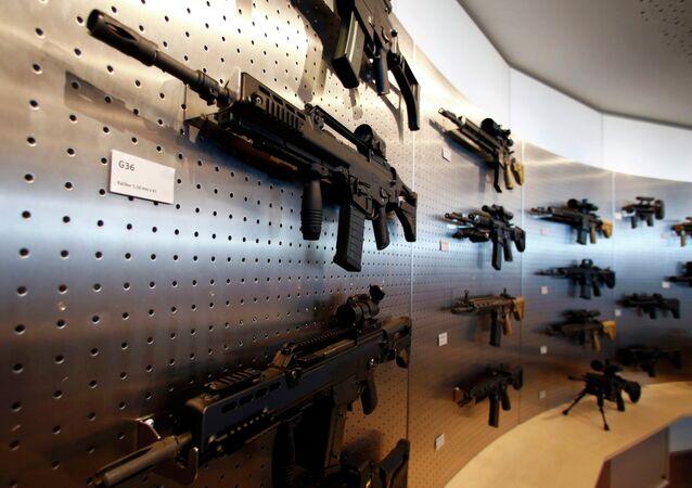 HK G 36 guns