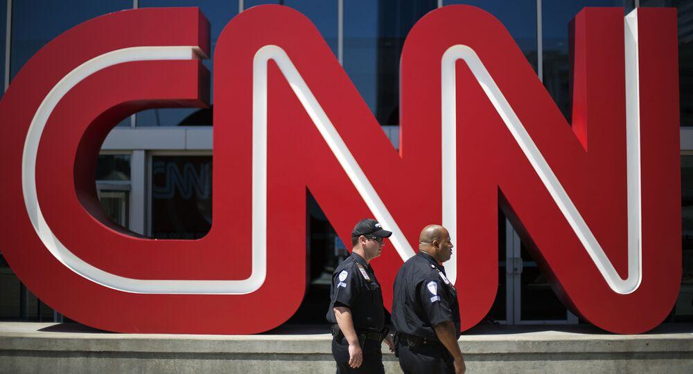 Les bureaux de CNN à Atlanta, aux États-Unis