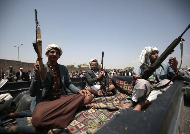 Houthis au Yémen