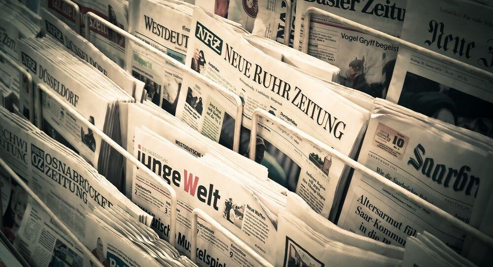 Des magazines allemandes (image d'illustration)