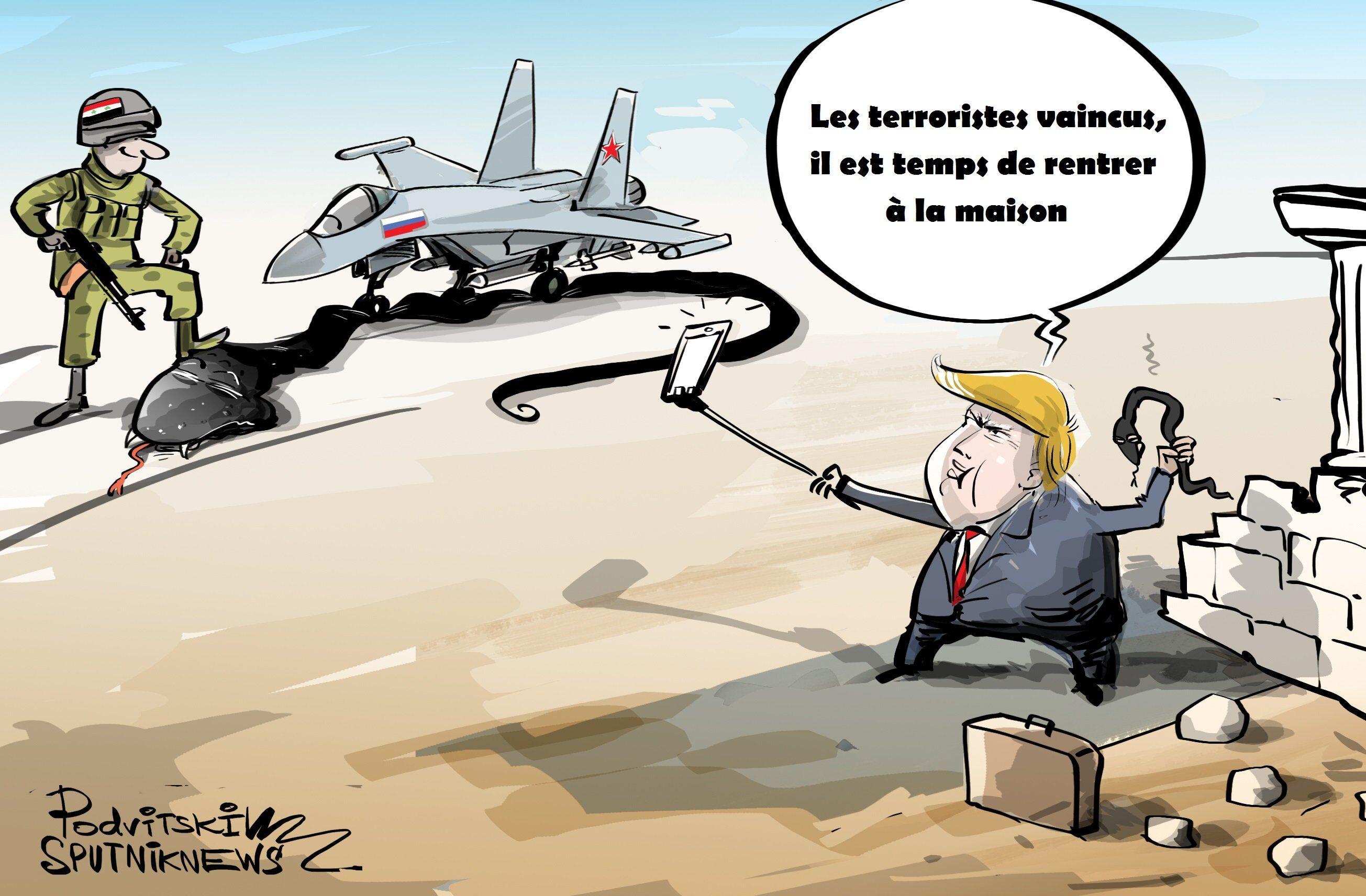 Les terroristes vaincus, il est temps de rentrer à la maison