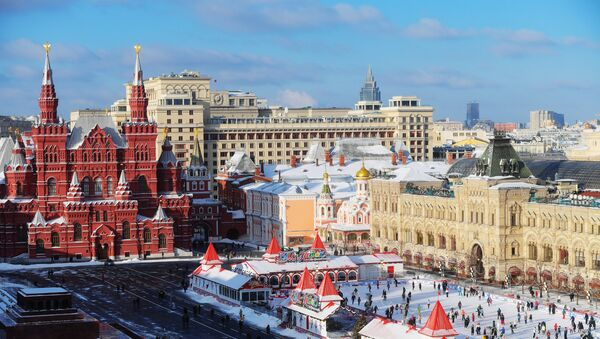La place Rouge à Moscou - Sputnik France