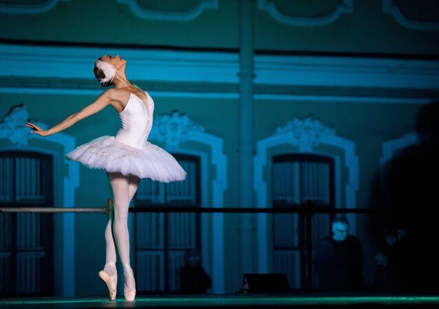 Une ballerine, image d'illustration