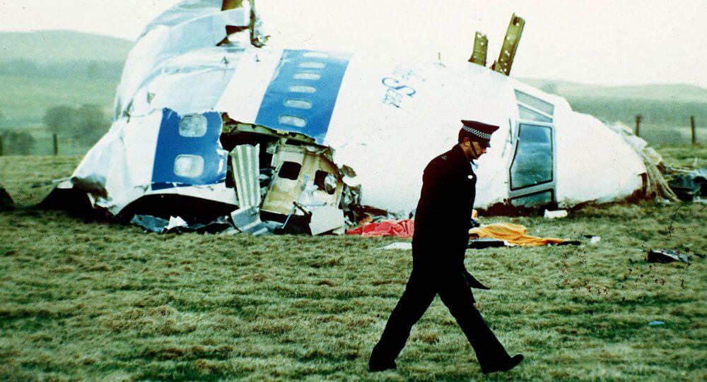 Débris du vol 103 de Pan Am