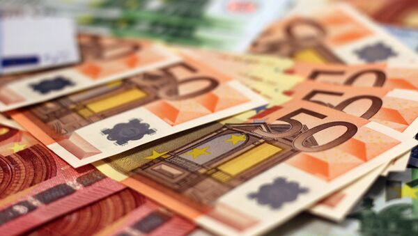 Euros, imagen referencial - Sputnik France