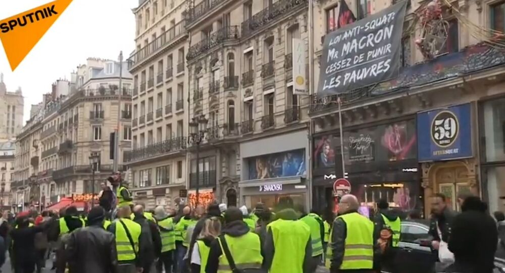 L'acte 6 des Gilets jaunes se poursuit à Paris