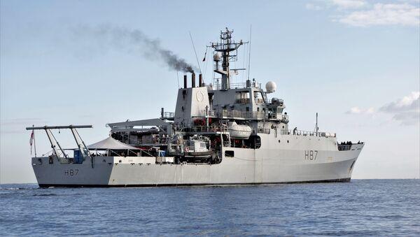 HMS Echo - Sputnik France
