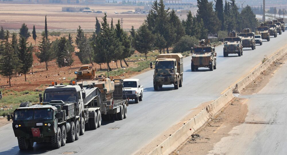 Forces turques en Syrie