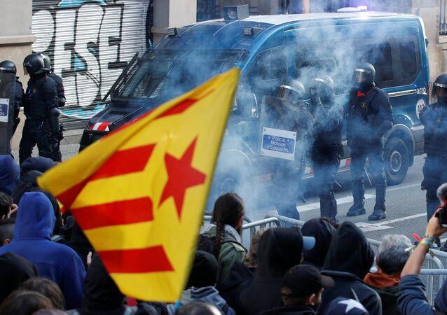 Manifestation du 21 décembre à Barcelone