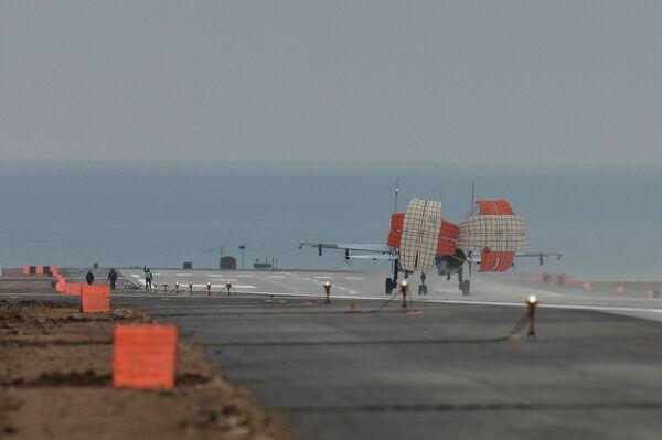 L'aérodrome Belbek en Crimée - Sputnik France