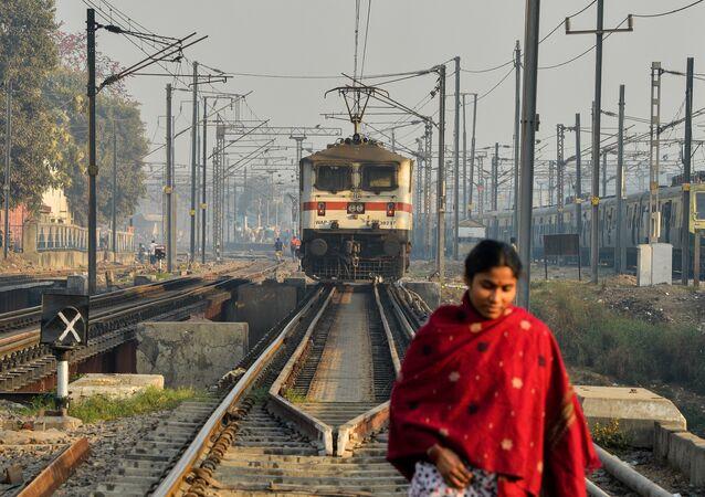 Jeune femme indienne