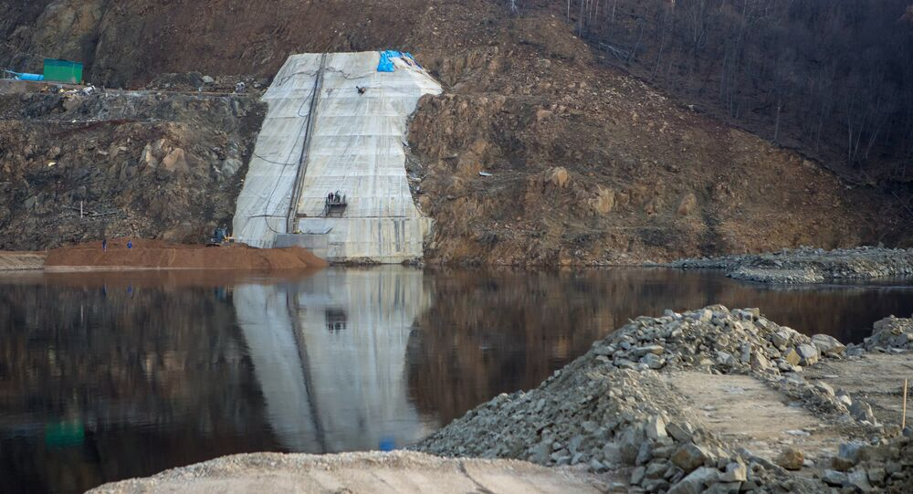 La centrale hydroélectrique de la Boureïa, dans la région de l'Amour