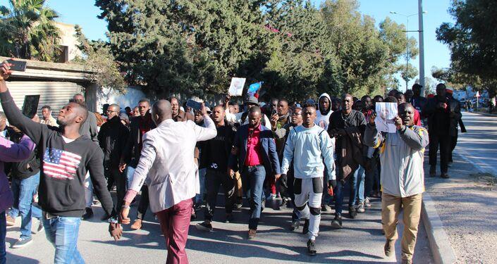Les Subsahariens de Tunisie en colère après le meurtre d'un Ivoirien
