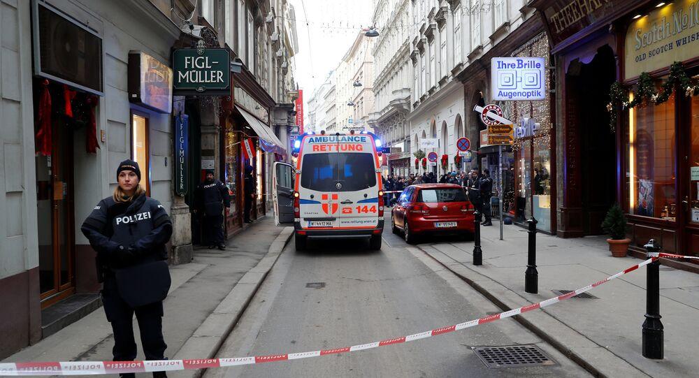 Police à Vienne / image d'illustration
