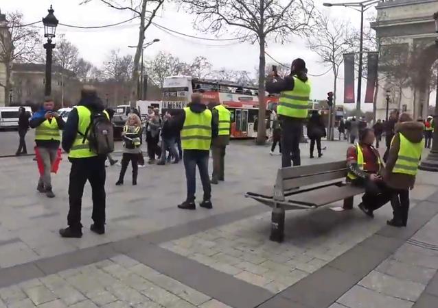 L'acte 7 des Gilets jaunes à Paris, le 29 décembre 2018
