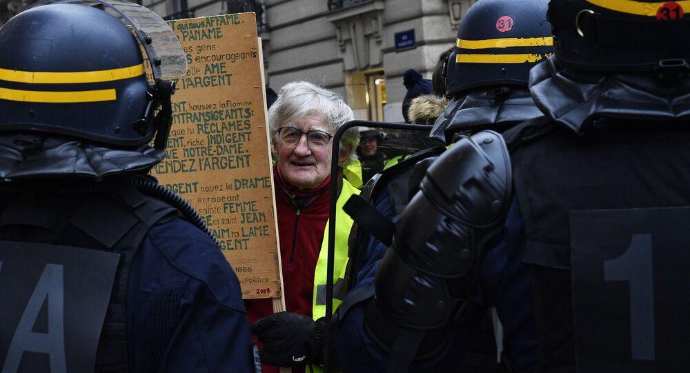 Manifestation des Gilets jaunes le 29 décembre 2018