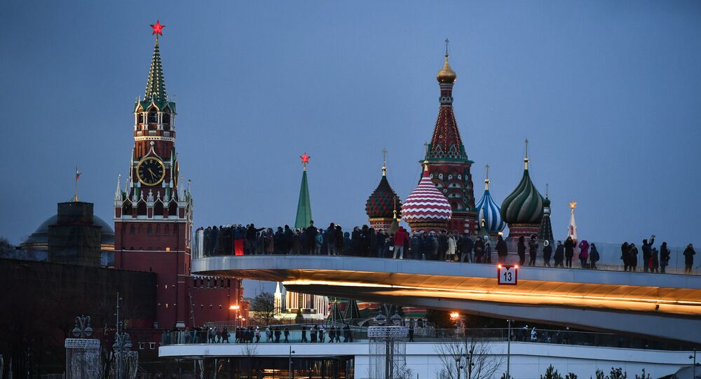 Vue sur le Kremlin