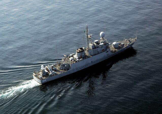 Un navire de la Marine saoudienne (image d'illustration)