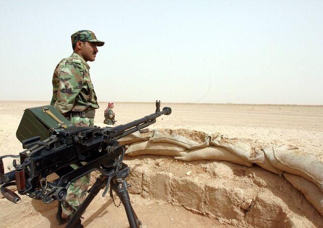 Un soldat syrien (image d'illustration)