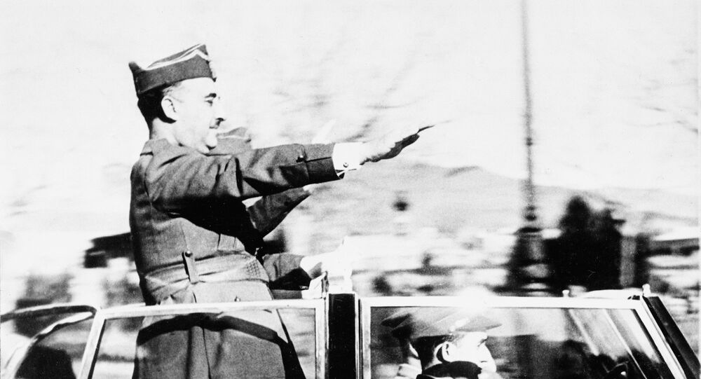 Gen. Francisco Franco (Archiv)