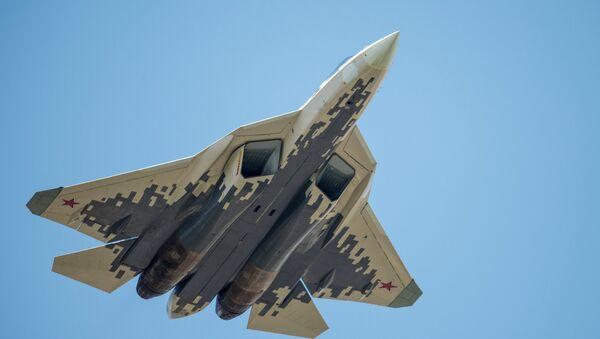 Le chasseur russe de cinquième génération Su-57 - Sputnik France