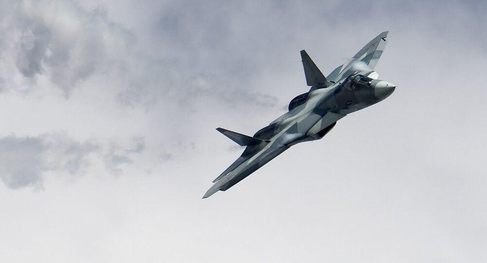 Comment fonctionnent les différents camouflages du nouveau chasseur russe Su-57