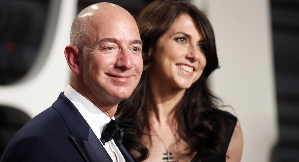Jeff Bezos et MacKenzie Bezos