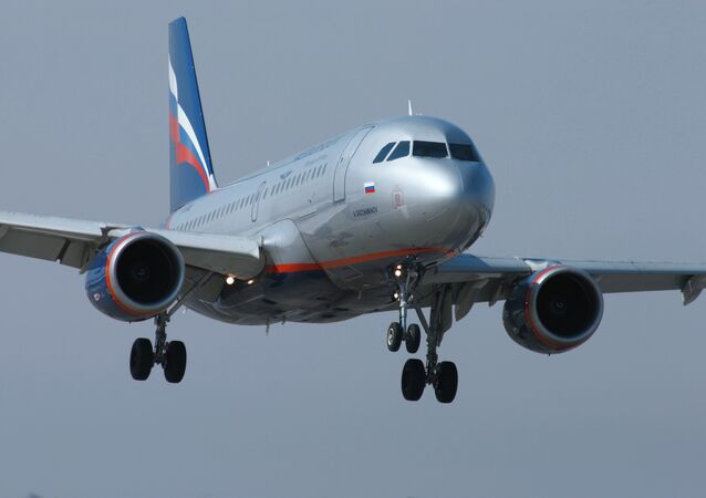 AIRBUS A320 de l'Aérofolot
