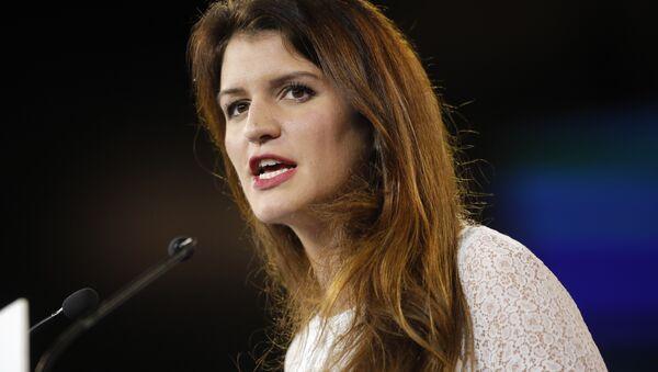 La secrétaire d'État chargée de l'Égalité entre les femmes et les hommes Marlène Schiappa - Sputnik France