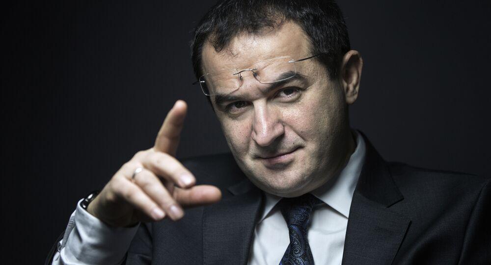 Ahmet Ogras, président du Conseil français du culte musulman (CFCM)